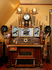 Steampunk Victorian Organ Command Desk, created by