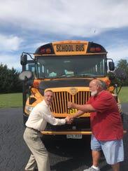 Willard Superintendent Matt Teeter made it a point to meet with every district employee including Randy Richardson.