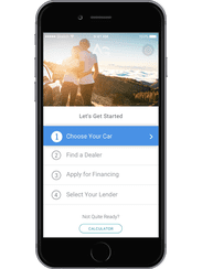 A screenshot of the AutoGravity app.