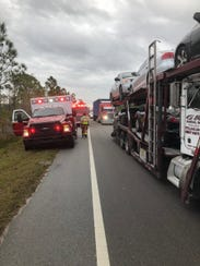 Additional crashes on Fellsmere Road are creating congestion