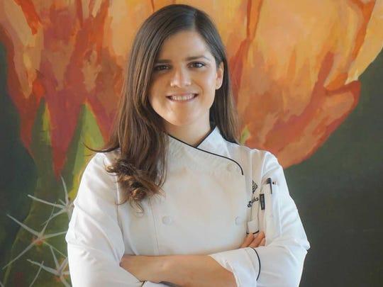 Samantha Sanz: Chef de cuisine, Talavera, Scottsdale.