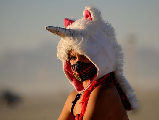 Burning Man Wednesday Evening 33