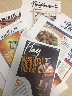 The Pensacola News Journal unveiled its new daily feature and entertainment section.
