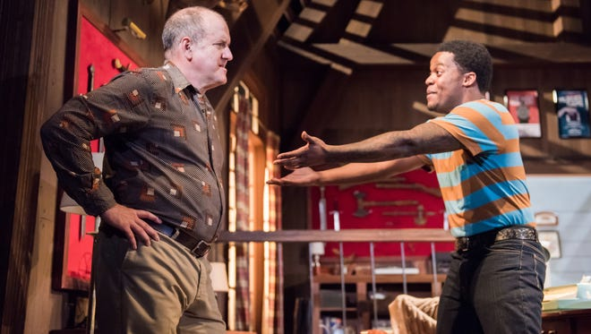 "Could Bill Watson (left) be envious of former protege Di'Monte Henning in the comedy-thriller ""Deathtrap""? Milwaukee Chamber Theatre is performing the show."