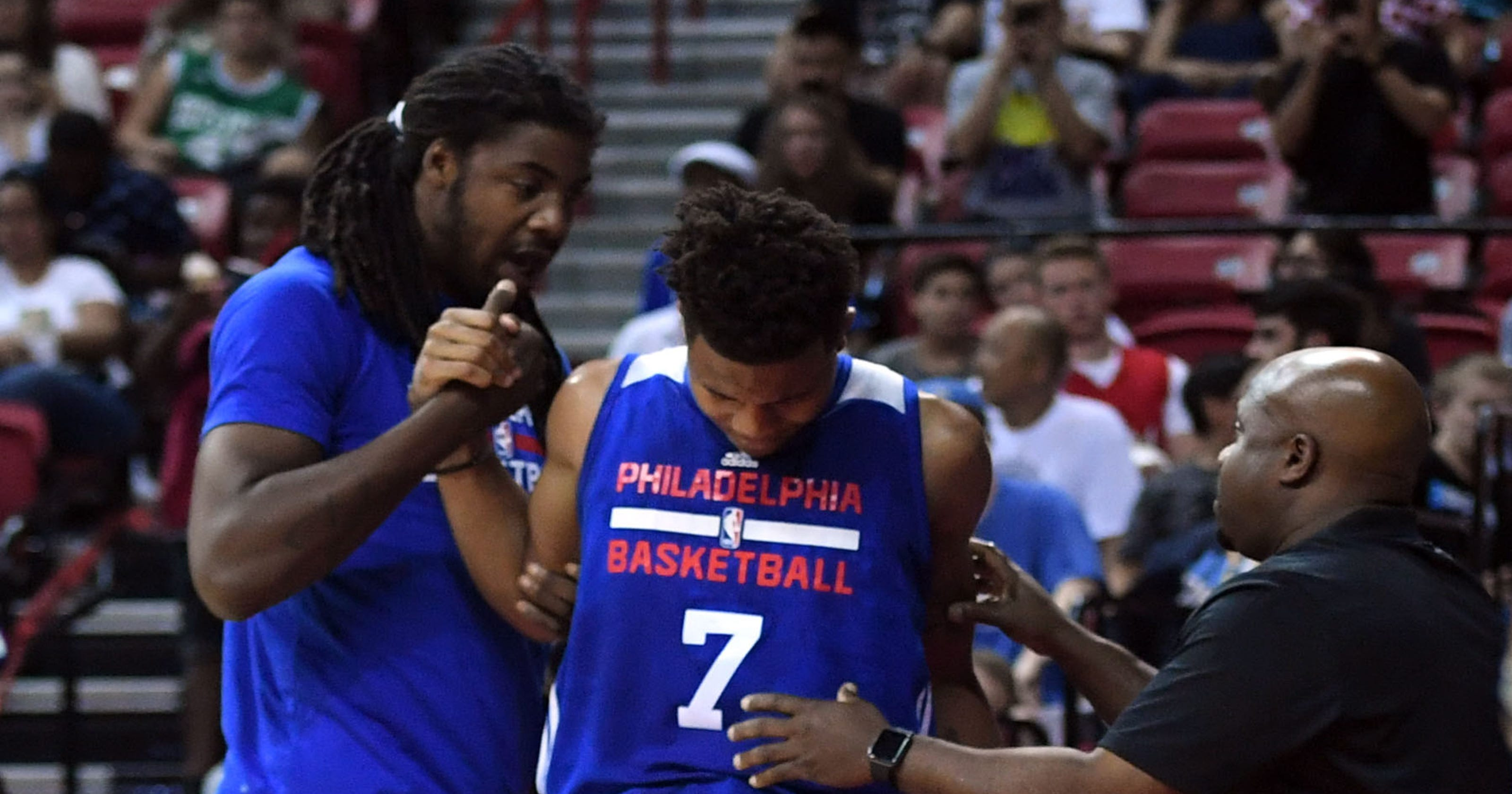 d5278e89e659 76ers  Markelle Fultz (ankle) to miss remainder of NBA Summer League