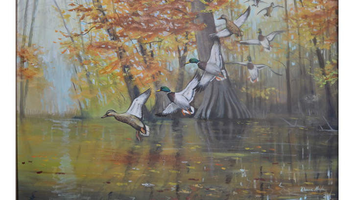 Local artist Duana Hada's art will be on display at