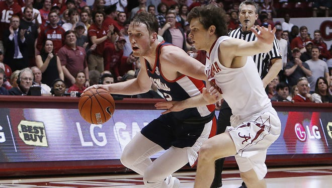 Cullen Neal (left) shot 40 percent from 3 last season at Ole Miss but has been granted his release from the program.
