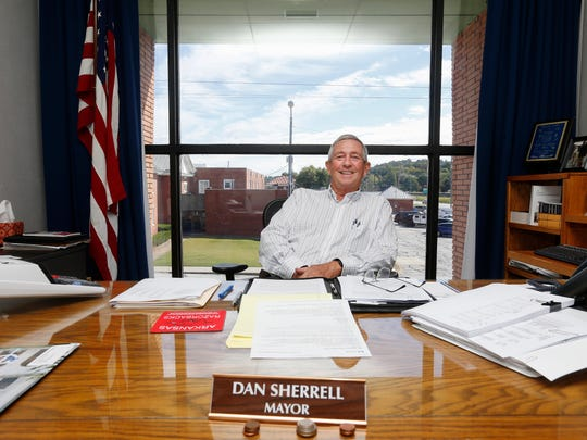 Dan Sherrell, mayor of Harrison, Arkansas, doesn't support a measure that would allow in Boone County. Harrison is the county seat.