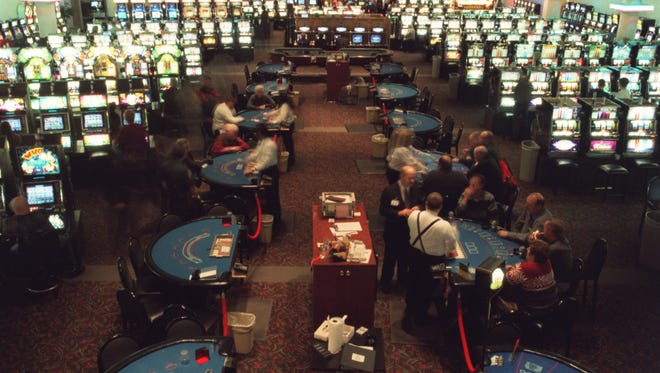A closer look at the Lac Vieux Desert casino in Watersmeet.