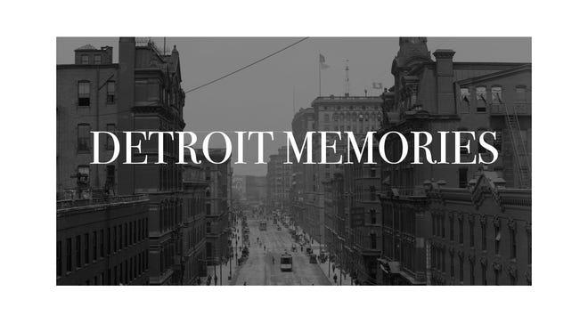 Detroit memories logo.