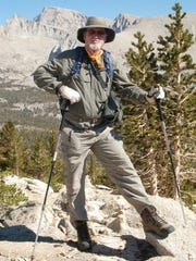 William Tweed hikes near Mt. Whitney in 2013.