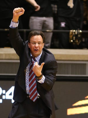 IU coach Tom Crean (pictured) and his Hoosiers have work to do to secure an NCAA tournament berth.