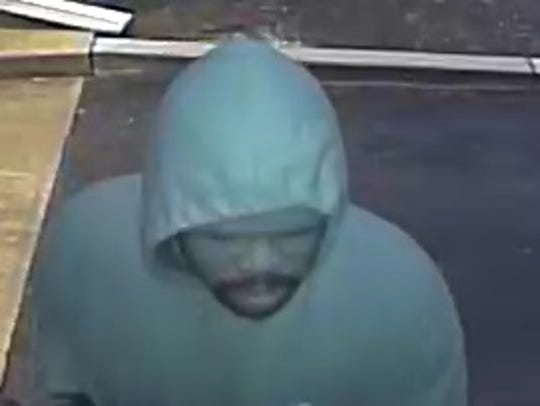 The individual pictured is a suspect in a Salisbury
