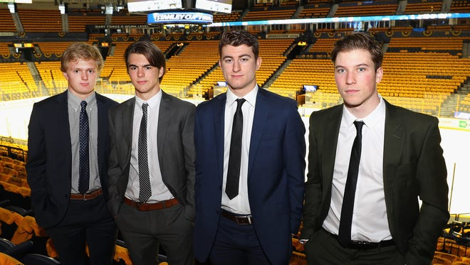 Prospects Casey Mittelstadt, Nico Hischier, Gabriel Vilardi and Nolan Patrick will learn Friday night where they'll start their NHL careers.