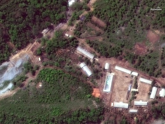 North Korea Nuclear Site