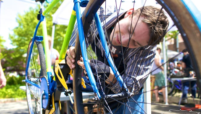 The Collingswood Bike Share will be among the vendors at the borough's Green Festival April 16.