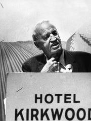 Garst was a confidant of Soviet Premier Nikita Khrushchev,