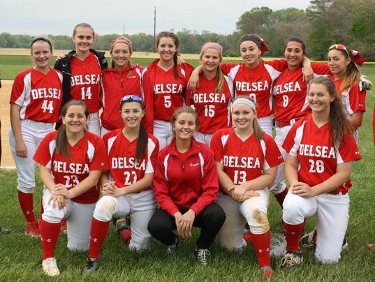 Delsea Crusaders Softball 2016