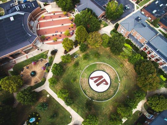"The ""AP Bowl"" at Austin Peay State University."
