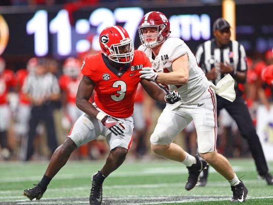 Georgia's Roquan Smith may be the best linebacker in