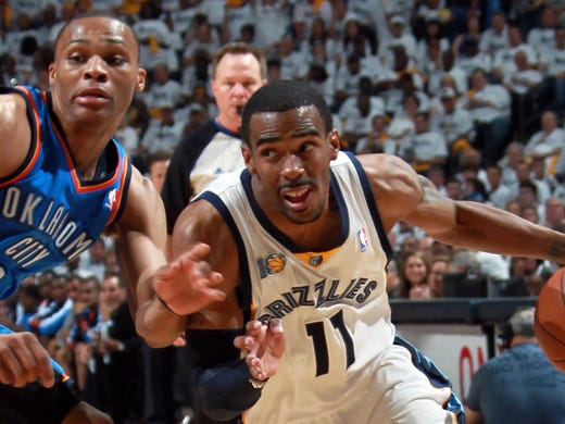May 9, 2011 -  Memphis Grizzlies guard Mike Conley