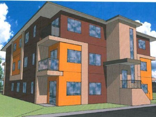 12-unit apartment complex planned
