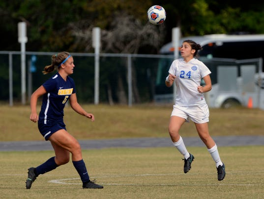 Gulf South Conference Women's Soccer 9