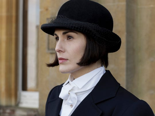 Michelle Dockery stars as Lady Mary Crawley in the