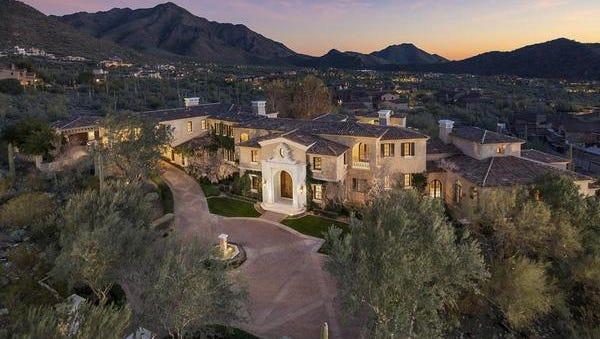 Tempe attorney Michael L Ferrin's new home in Scottsdale cost $5.7 million.