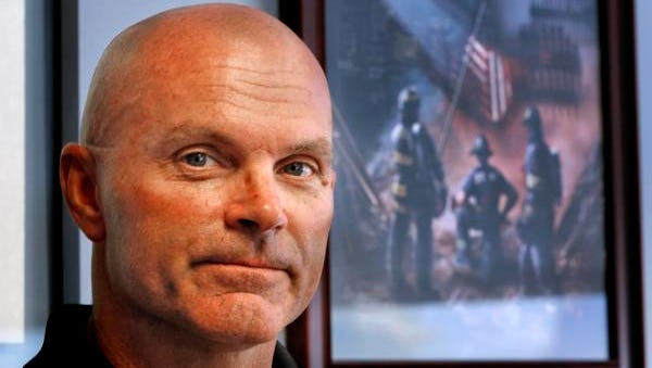Indiana Task Force One Coordinator Thomas Neal, seen Wednesday, September 7, 2016, was one of the urban search and rescue members to be deployed to New York City's Ground Zero on September 11, 2001.