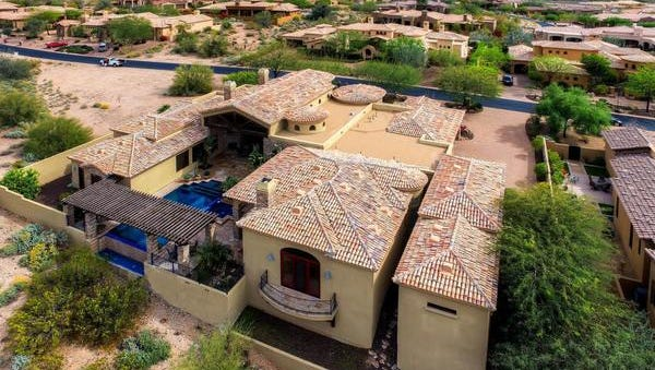Martin Rootberg paid $1.95M for this Scottsdale home in cash.