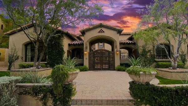 James Rogers paid over $2.5 million in cash for this Scottsdale home in the Silverleaf community.