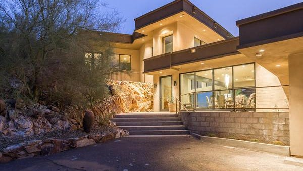 Nicholas and Eleanor Androulidakis paid cash for this Paradise Valley estate.