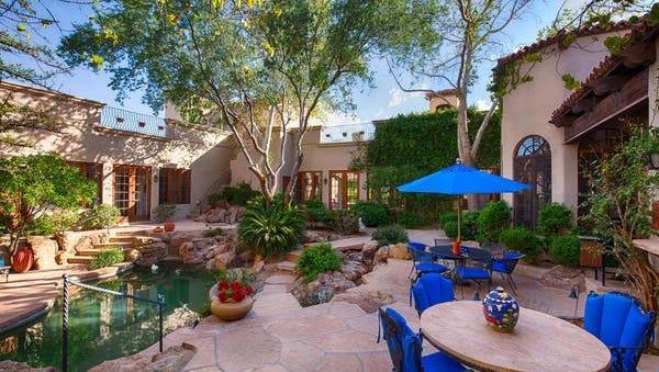 Donald and Ronda Waite paid cash for this Spanish hacienda in Scottsdale.