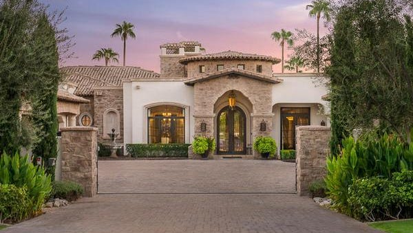 David Shannon, and his wife Maureen, paid cash through their trust for this 8,333-square-foot mansion in Paradise Valley.