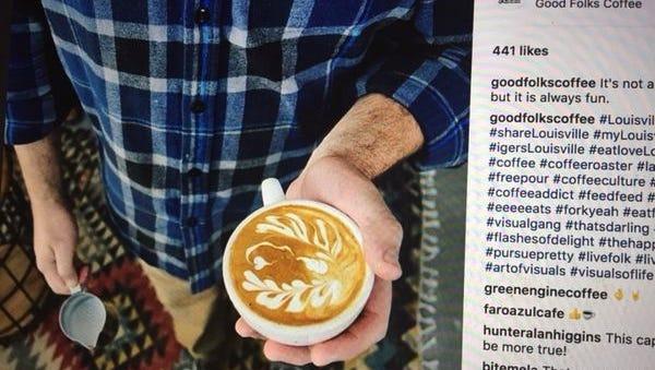 Good Folks Coffee Instagram