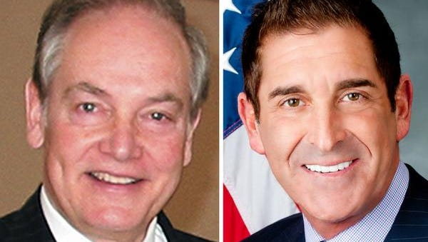 Oliver Koppell, left, a former state assemblyman, New York City councilman and attorney general is challenging Sen. Jeff Klein in a primary Tuesday.