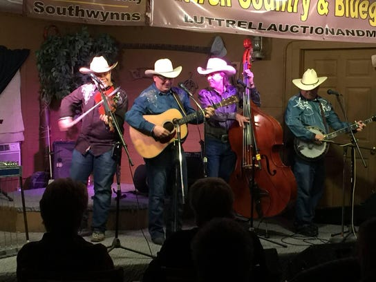 Bluegrass band The Finley River Boys will open Saturday