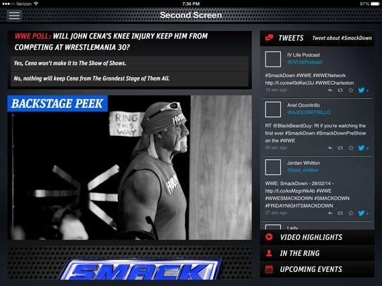 WWEsecondscreen