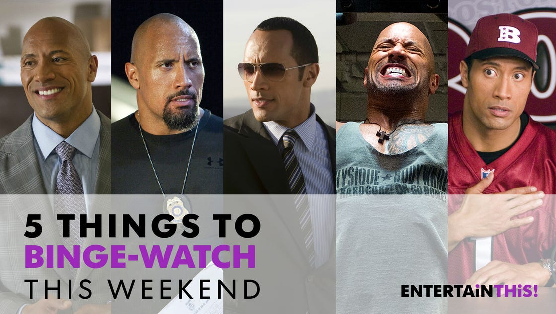 5 things to binge-watch this weekend: Dwayne 'The Rock' Johnson edition
