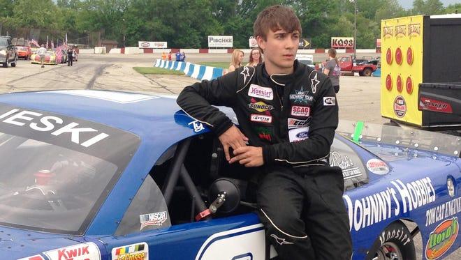Ty Majeski of Seymour has signed a NASCAR developmental deal with Roush Fenway Racing.