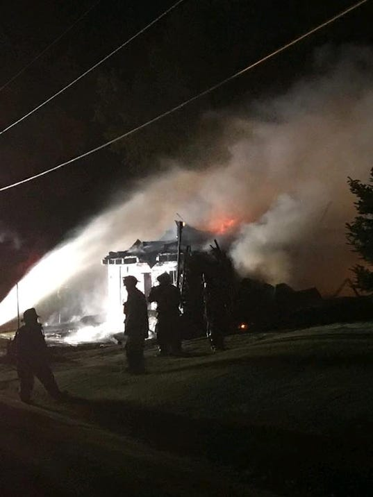 Barn fire, 870 Second St., East Manchester Township