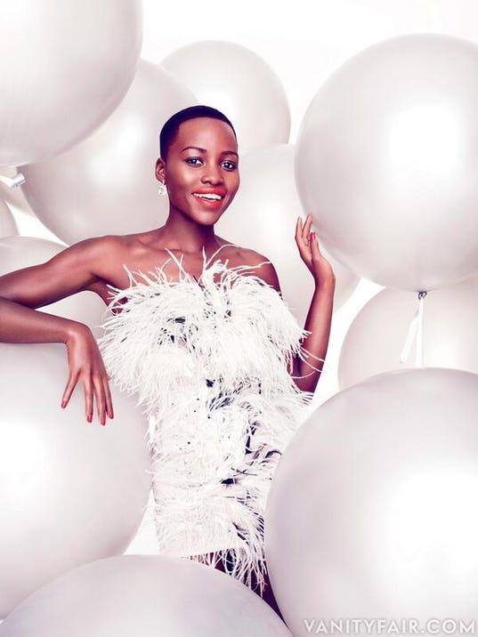 Lupita Nyong'o in 'Vanity Fair'