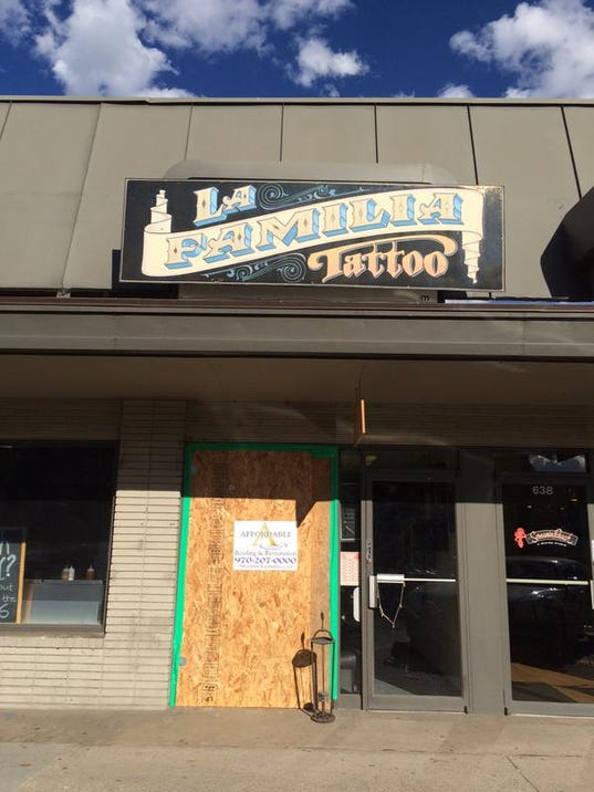 fort collins tattoo shop burglarized