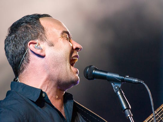 Dave Matthews Band performed Friday, June 21, 2013, at Klipsch Music Center, the first of a two-night stand.  Singer/songwriter Brandi Carlile performed as the group's opening act. / Doug McSchooler/for The Star