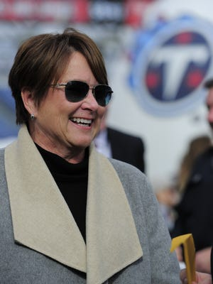 Titans controlling owner Amy Adams Strunk leads a group selecting the team's next general manager.