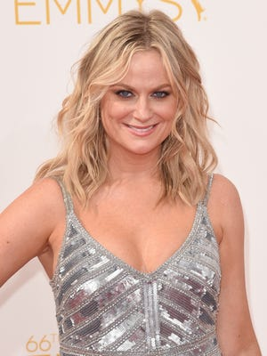 Comedian-actress Amy Poehler is 43.