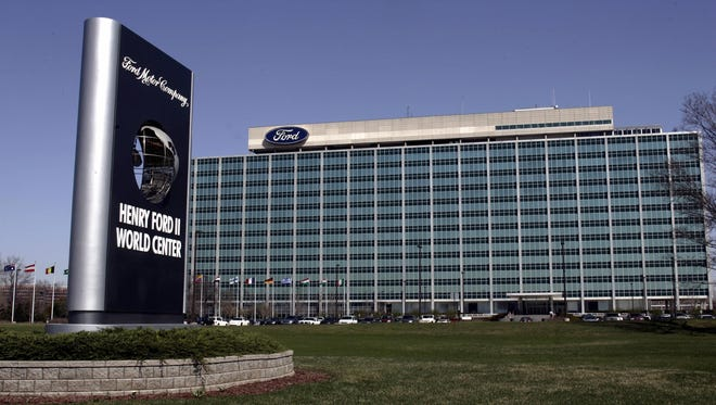 The world headquarters for the Ford Motor Company in Dearborn.