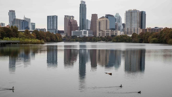 Lady Bird Lake in Austin on Wednesday, November 13, 2019.