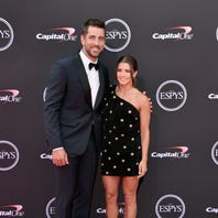 Aaron Rodgers, Danica Patrick score a win with 'I, Tonya' spoof at ESPYs